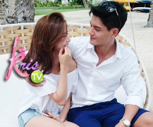 PHOTOS: The reel to real love story of Daniel Matsunaga and Erich Gonzales on KrisTV