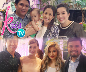 PHOTOS: Yeng-Yan, Jolina-Mark and Maricar-Richard celebrate love on KrisTV #FourTheLove