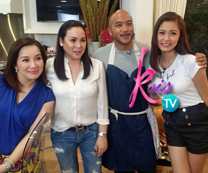 PHOTOS: Chickahan moments of the Queen of All Media Kris Aquino with Optimum Star Claudine Barretto & Chinita Princess Kim Chiu