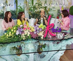 PHOTOS: Umagang kwentuhan with Kris, Vice, Carmina and Erich sa KrisTV