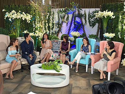 PHOTOS: Jamie, Vina, Erik, Klarisse on KrisTV