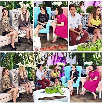 PHOTOS: Sweet moments nina Erik at Angeline sa KrisTV