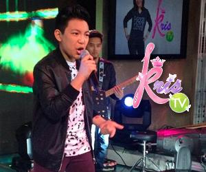 PHOTOS: Darren fever on KrisTV