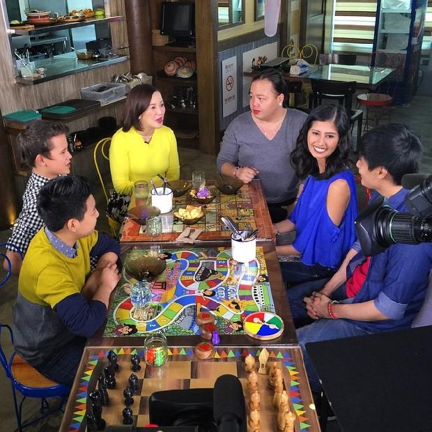 PHOTOS: KrisTV Food trip with Kris' teen barkada Darren and JK