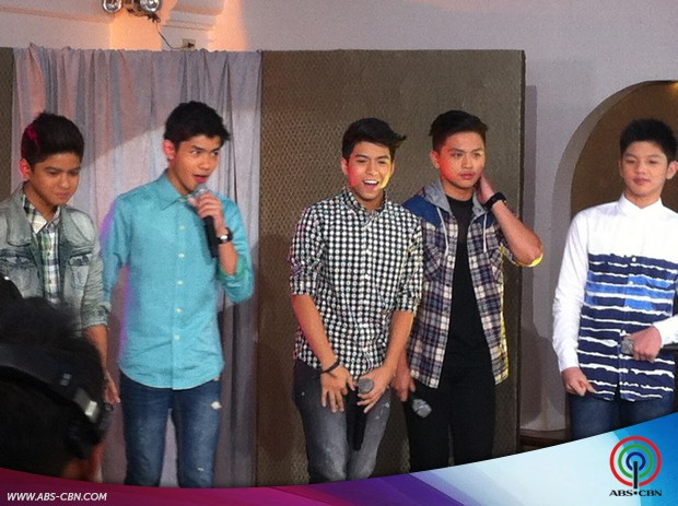 Kris, Erich and Pooh groove with James Reid and the Gimme 5