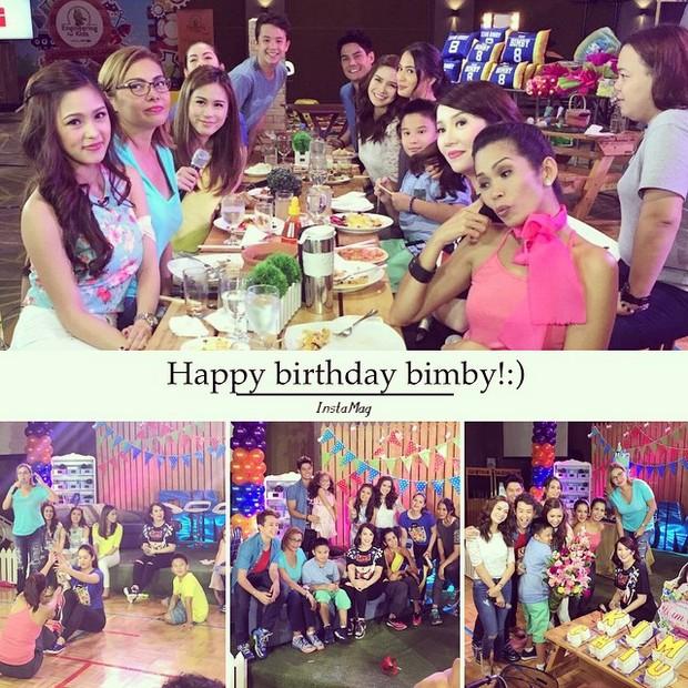 Bimby celebrates 8th birthday on Kris & Bimby Summer TV