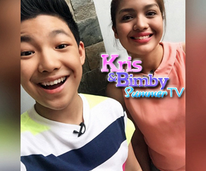 Kris and Bimby Summer TV in Pateros with Darren and Jane