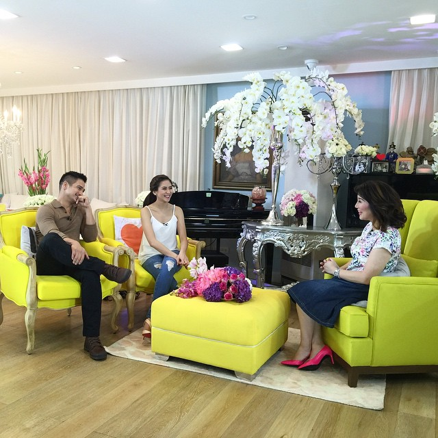 BTS PHOTOS: KrisTV presents The Sarah and Piolo Confessions!