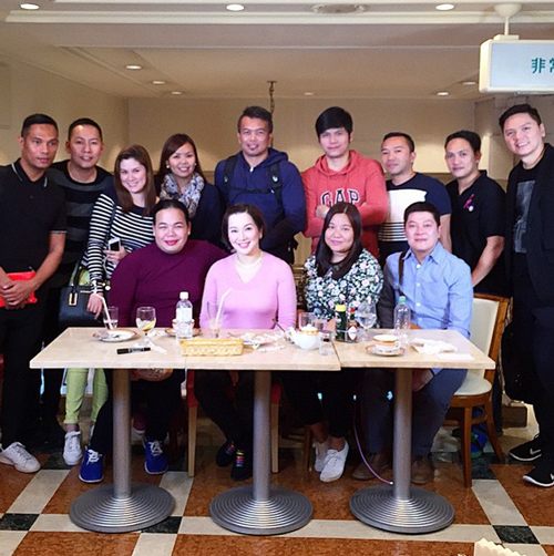 Photo credit to _krisaquino IG