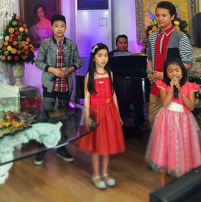 BEHIND-THE-SCENES: The Voice Kids Lyca, Darren, JK & Darlene on KrisTV