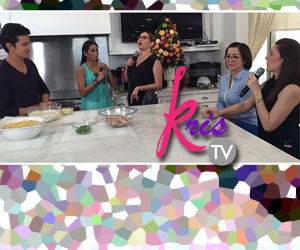 Cooking Bonding with James, Carmina, K Brosas, Pokwang and Kris