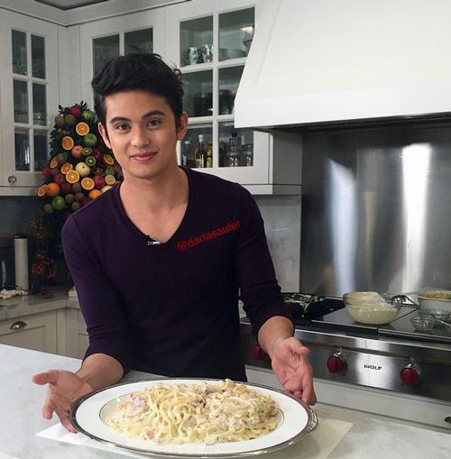 Cooking Bonding with James, Carmina, K Brosas, Pokwang and Kris