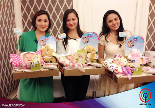 PHOTOS: Preggy moms Ara Mina, Dimples Romana, LJ Moreno and Melissa Ricks on KrisTV
