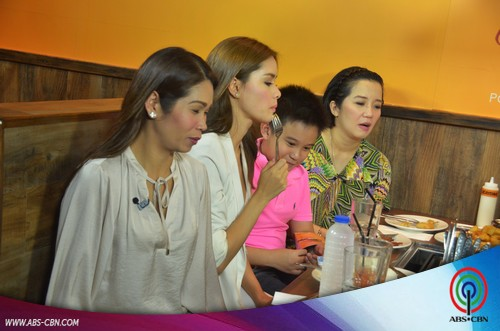 PHOTOS: Kris, Bimby and Pokwang with Once a Princess Cast