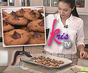 Julia Montes reveals her yummy cookie recipe