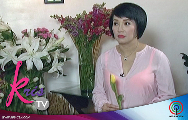 why does kris aquino not want to be given hydrangeas and yellow tulips